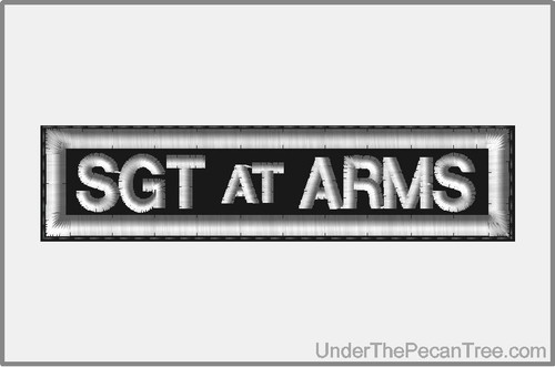 SGT AT ARMS MOTORCYCLE CLUB RANK AND POSITION