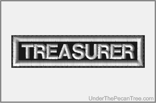 TREASURER MOTORCYCLE CLUB RANK AND POSITION