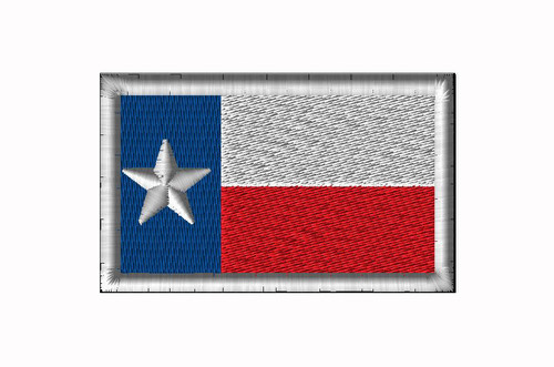 TEXAS FLAG SEW ON PATCH