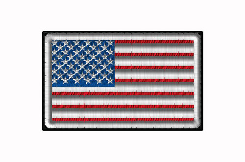 AMERICAN FLAG SEW ON PATCH