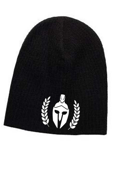 "SUPERIOR COTTON BLEND KNIT 9"" BEANIE BLACK"