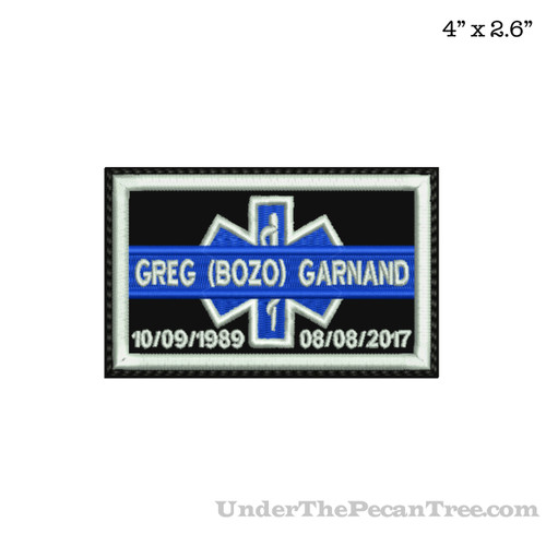 ROADDOCS MEMORY PATCH GREG (BOZO) GARNAND