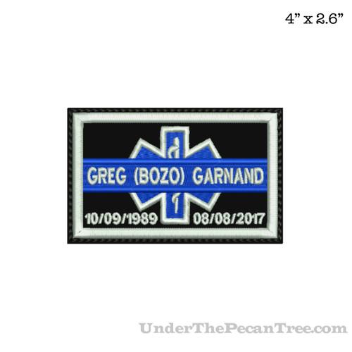 ROADDOCS MEMORY PATCH GREG (BOZO) GARNAND
