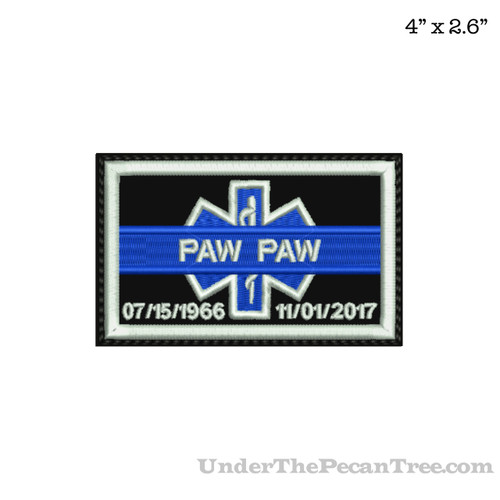 ROADDOCS MEMORY PATCH RAY (PAW PAW) RENTERIA