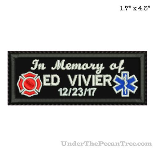 MEMORY PATCH ED VIVIER