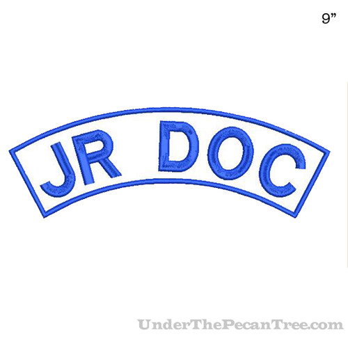 "ROADDOCS JR DOC 9"" WIDE TOP ROCKER PATCH"