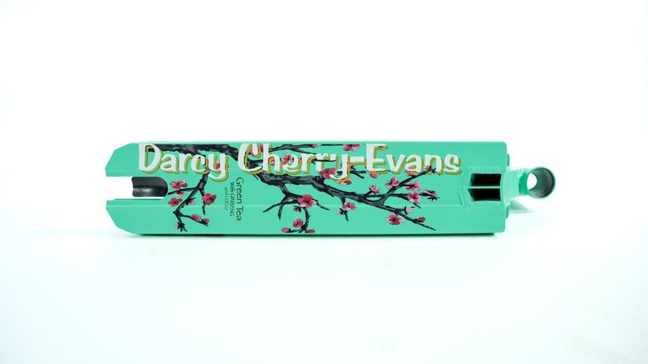 Details about  /Lucky Darcy Cherry Evans Signature Scooter Deck Teal