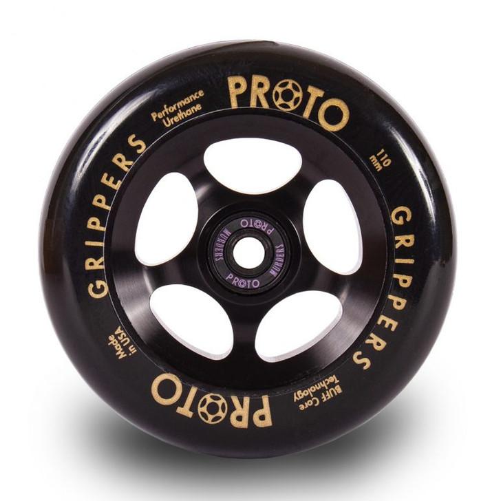 Proto Wheels - Grippers 110mm Black