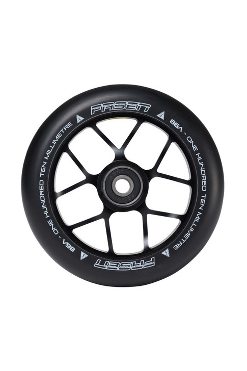 Fasen 110mm Jet Wheel Black Core/Black PU