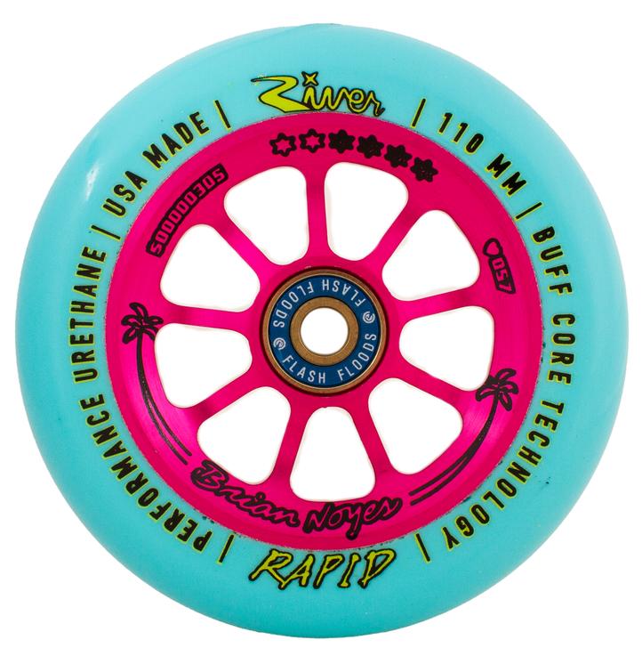 "River Wheels - Rapids 110mm - Signature ""Florida Man"" Brian Noyes"
