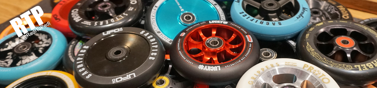 Find over 200 various types of scooter wheels in our store in Orlando, Florida.
