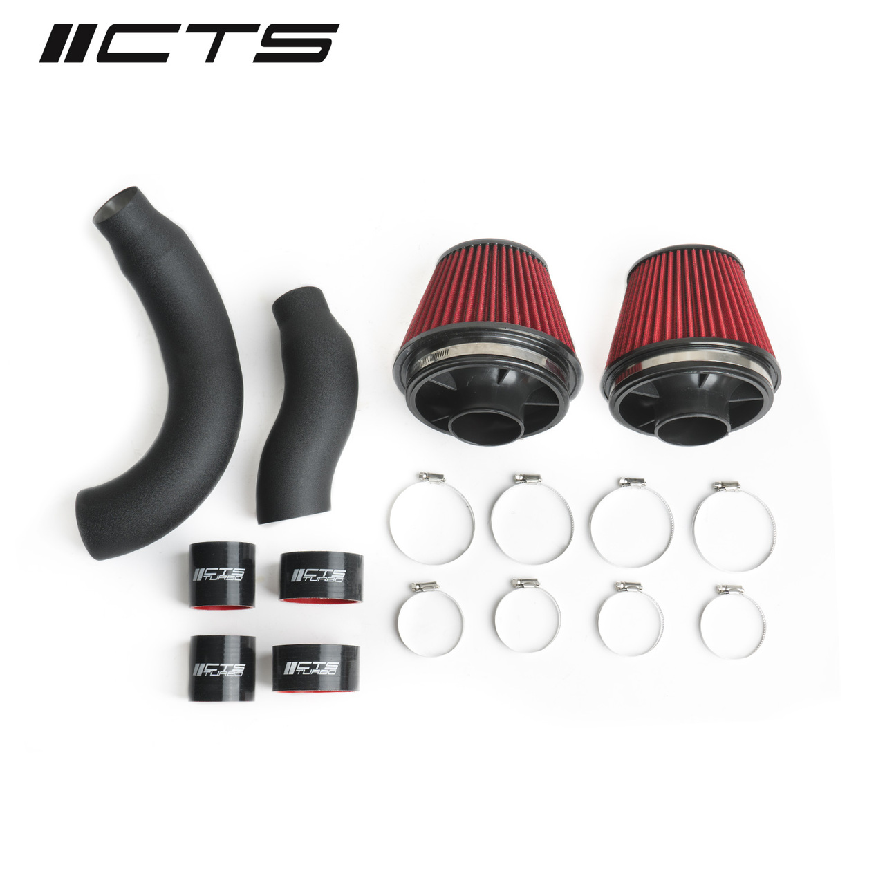 CTS TURBO C7 S6/S7/RS7 DUAL 3″ INTAKE KIT WITH 6″ VELOCITY STACK