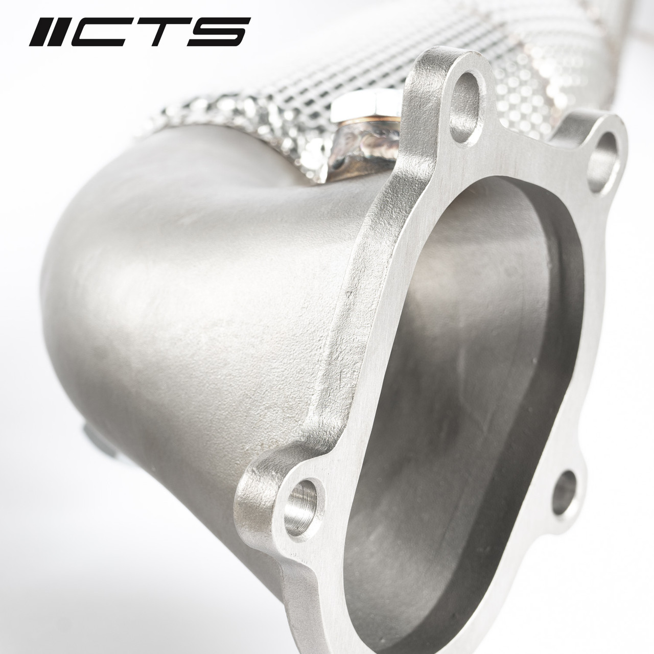 CTS Turbo Audi C7/C7.5 S6/S7/RS7 4.0T Cast Downpipe Race Set (NOT LEGAL FOR ROAD USE)