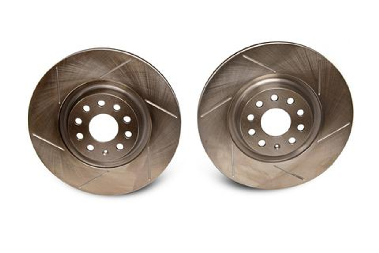 EMD Auto 340x30mm Front Slotted Brake Rotor (Pair)
