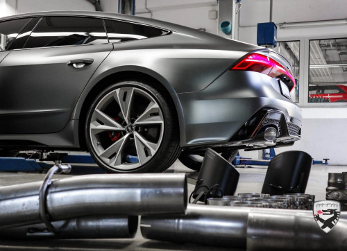 MTM by Milltek Catback exhaust system for Audi RS6/RS7 (C8) tailpipe 2x oval
