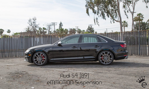 eMMOTION B9 A4/S4 Linear Lowering Springs