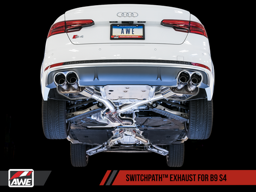 AWE Tuning Audi B9 S4 3.0T Exhaust Suite