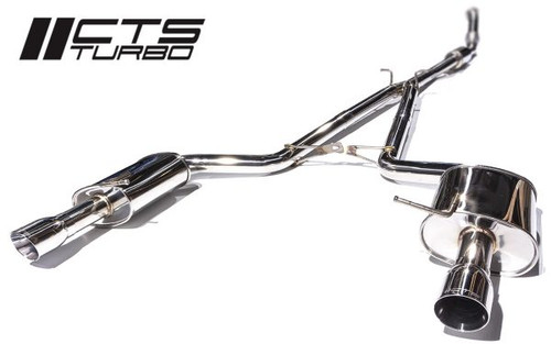 CTS Turbo B7 A4 2.0T Catback Exhaust