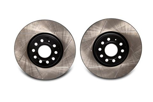 EMD Auto 312x25mm Coated High Carbon Front Slotted Brake Rotor (Pair)