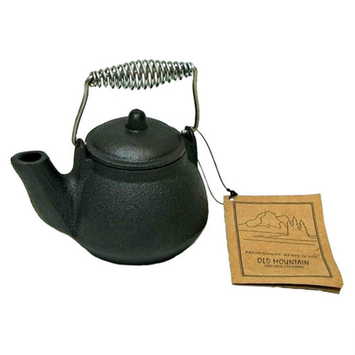 Old Mountain Small Cast Iron 1.5 Cup Tea Kettle