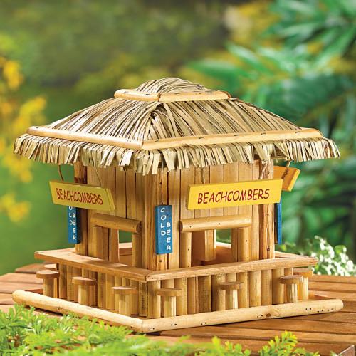 Beachcomber Hangout Wood Birdhouse