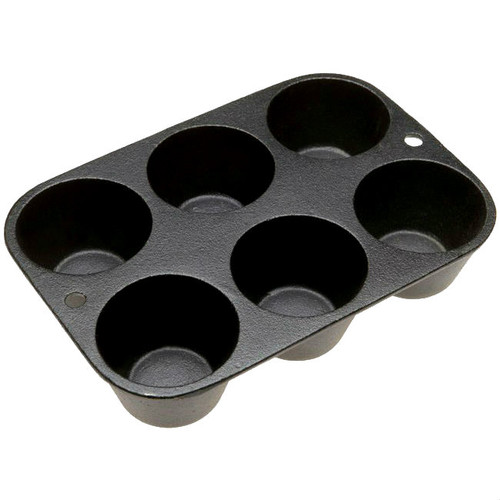 Old Mountain Cast Iron Six Cup Muffin Pan