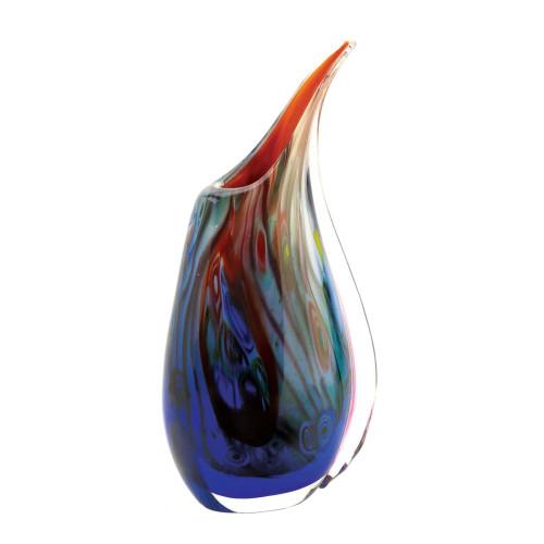 Dreamscape Rainbow Color Art Glass Decorative Vase