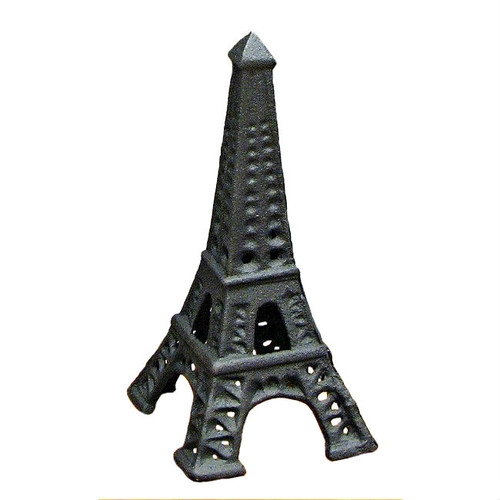 Eiffel Tower Cast Iron Paperweight