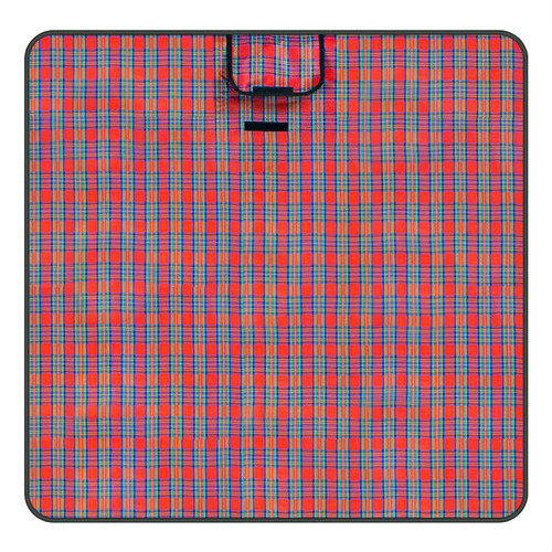 Red Plaid All Purpose Medium Camping Blanket