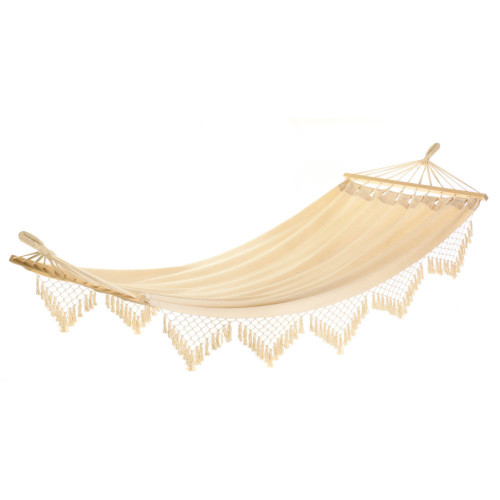 Cape Cod Canvas Hammock with Wood Frame