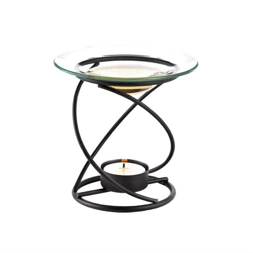 Sculptural Candle Spiral Oil Warmer