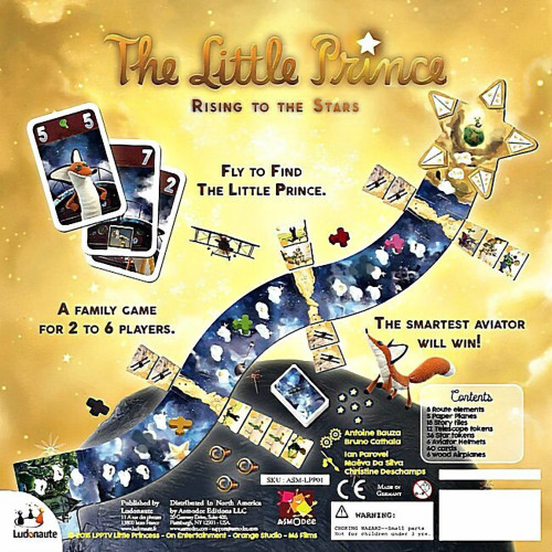 The Little Prince: Rising To The Stars Board Game