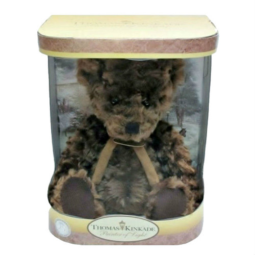 Thomas Kinkade Collectible Plush Stuffed Thomas Teddy Bear