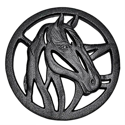 Old Mountain Cast Iron HorseTrivet