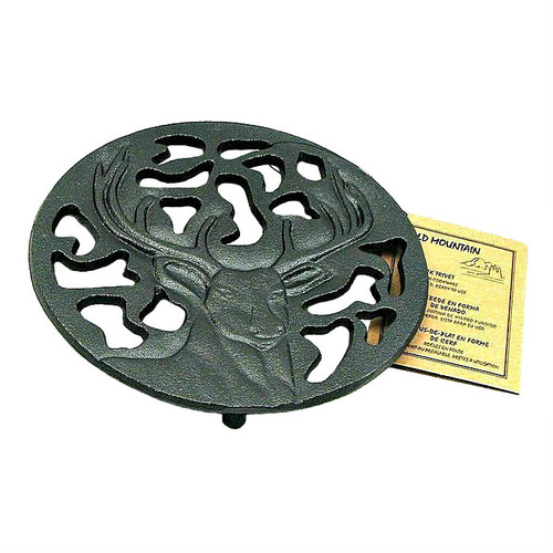 Old Mountain Cast Iron Buck Star Trivet