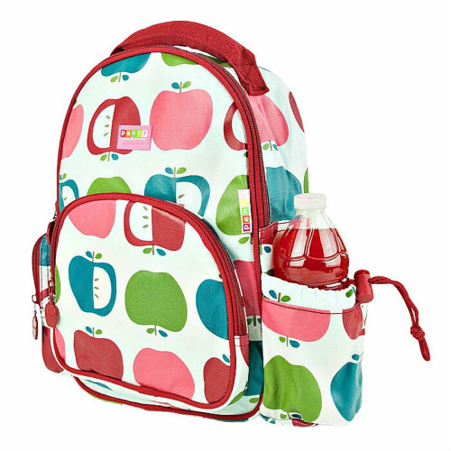 Penny Scallan Child's Juicy Apple Cotton Canvas Backpack
