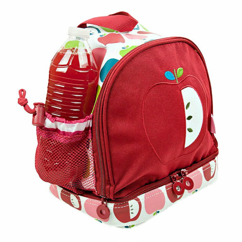 Child's Penny Scallan White Backpack with Juicy Apple Design