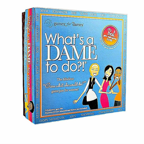 What's A Dame To Do? Board Game