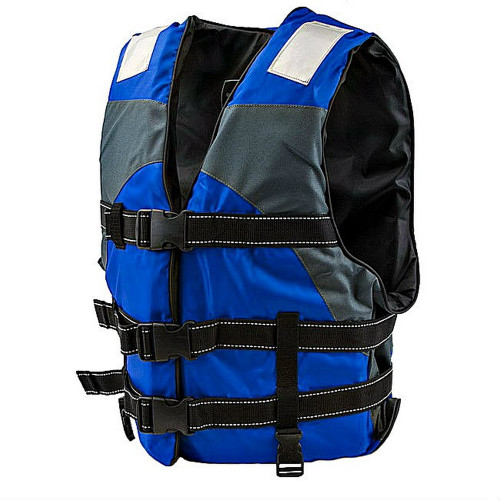Blue Hi Vision Adult Water Safety Reflective Life Vest