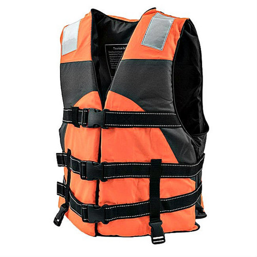 Orange Hi Vision Adult Water Safety Reflective Life Vest