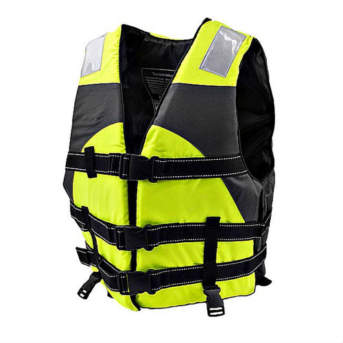Bright Green Hi Vision Adult Water Safety Reflective Life Vest