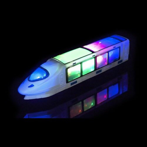 3D Lightning Bump and Go Train with Music