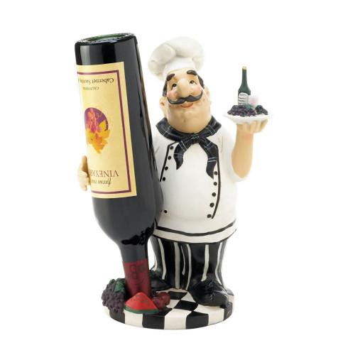 Italian Chef Vino Bottle Holder