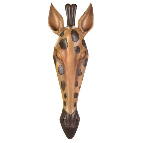 Wild Giraffe Decorative Wall Plaque