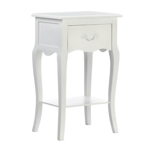 Country Loft Wood Accent Table