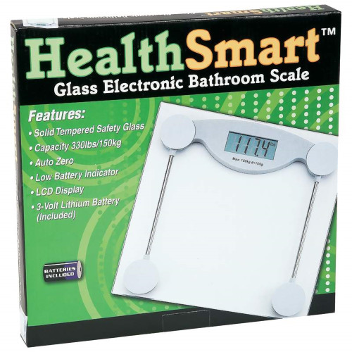 Tempered Safety Glass Electronic Bathroom Scale