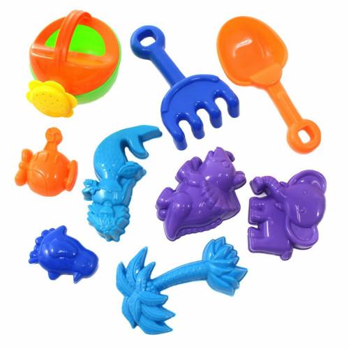 Beach Sand Toys - 10 Piece Set Age 3+
