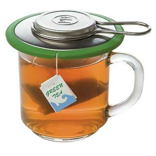 Travel Tea Infuser with Folding Handle and Storage Container