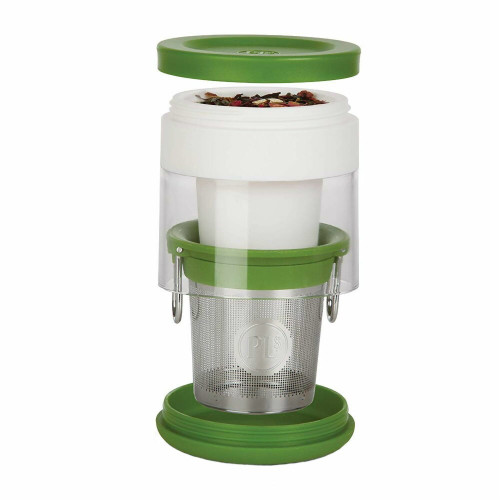 Travel Tea Infuser with Insulating Tea Cover and Storage Container