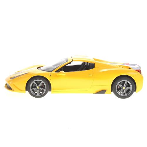 Yellow Ferrari 458 Speciale A Remote Control Car